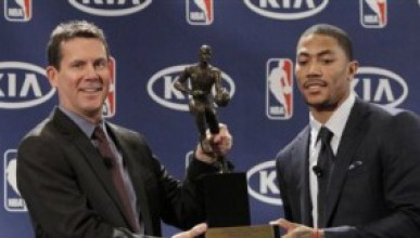 Дерик Роуз е MVP на сезона в NBA