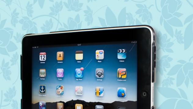 iPad на стената