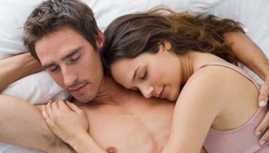 Полузаспал секс