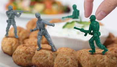 Храната прави борбата!