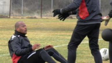 Райс Мболи и тренировката му