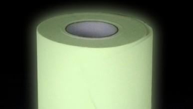 Светеща тоалетна хартия