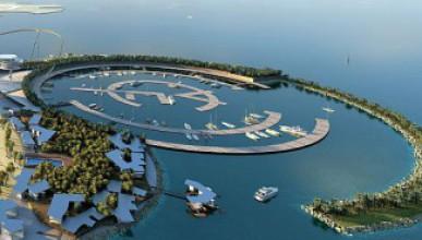 Реал Мадрид строи остров