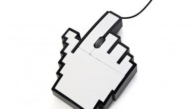Пикселизирана мишка