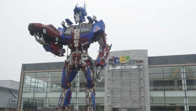 Паметник на Transformers