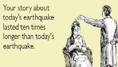 Земетръсен туитър