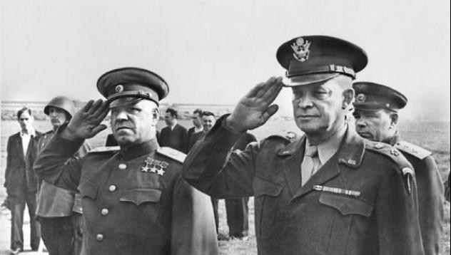 Айзенхауер е провеждал разходки