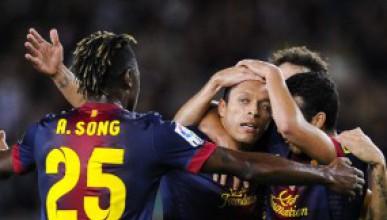 Барселона с трета поредна победа