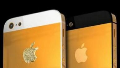 Златен iPhone 5