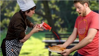 Малко чили в сандвича?