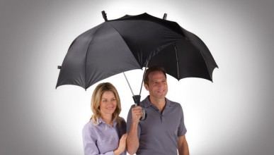 Двоен чадър
