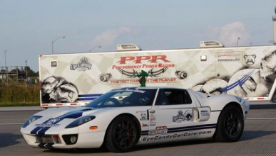 Ford GT с рекорд