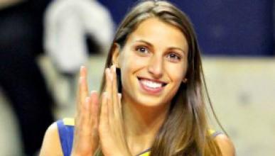 Наша волейболистка