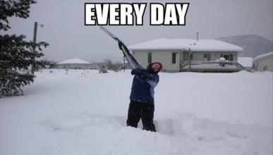 Още един снежен туитър