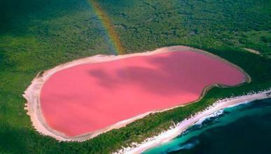 Австралийците имат розово езеро