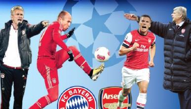 Арсенал срещу Байерн Мюнхен