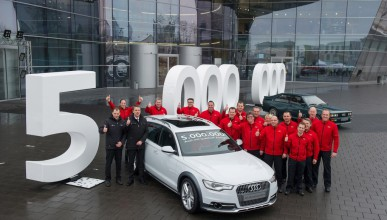 Audi произведе автомобил 5 000 000