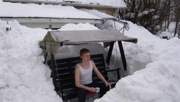 Пролетно-снежен туитър