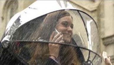 Чадър и свободни ръце