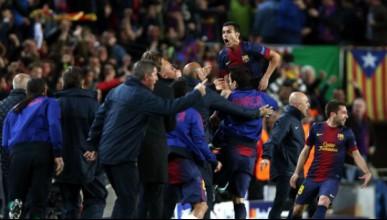 Барселона продължава напред