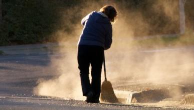 Чистенето като кампания