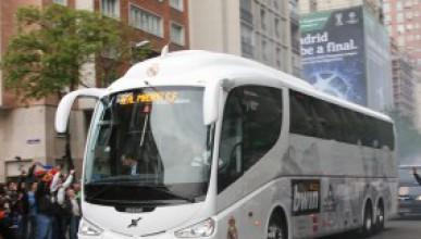 Реал Мадрид подари автобус на Левски
