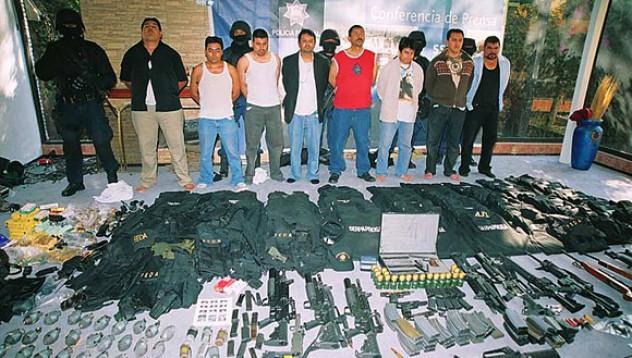 Мексикански картели и мобилни телефони