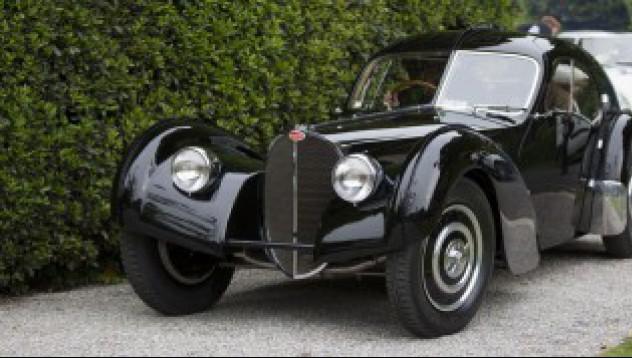 Bugatti 57SC Atlantic от 1938 на Ралф Лорън