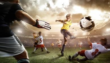 Футболните звезди като деца (снимка)