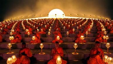 Монасите с уникален контрол над тялото