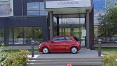 Fiat се шегува с VW