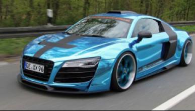 Audi R8 с тунинг