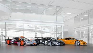 McLaren ще покаже състезателно наследство