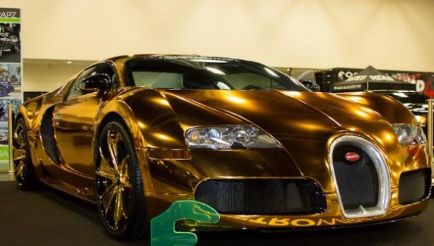 Flo Rida тунингова Bugatti-то си