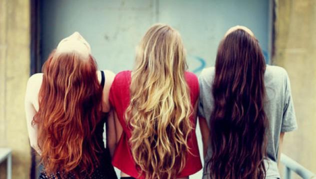 Цветът на косата й