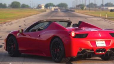 Hennessey си играят с Ferrari