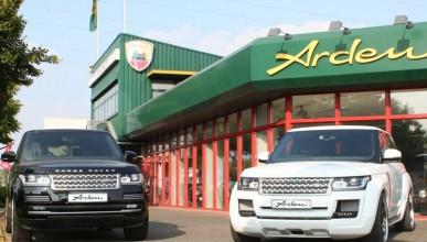 Arden и Range Rover