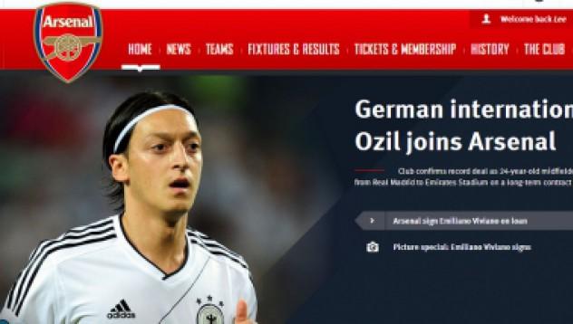 Йозил отива в Арсенал