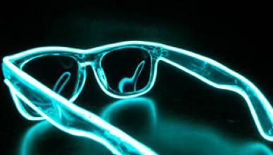 Светещи тъмни очила