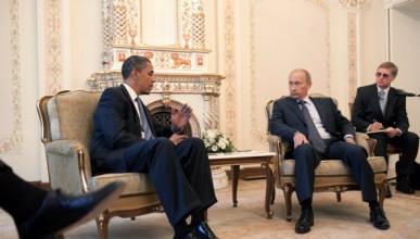 Обама и Путин имат интересни картини