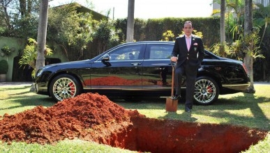 Бразилски милионер погребва Bentley