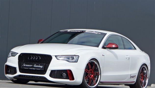 Senner си играе с Audi