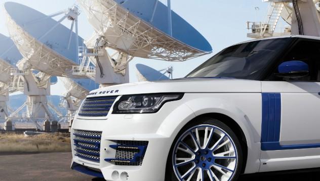 Range Rover с тунинг от Star Wars