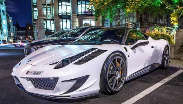 Суперавтомобилите в Лондон