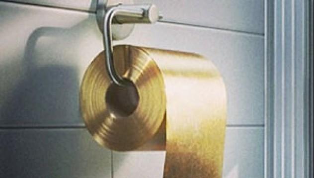 Тоалетната хартия на Мидас