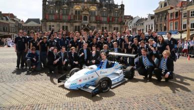 Холандски студенти подобриха рекорда за ускорение