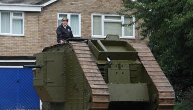 Да паркираш големия танк