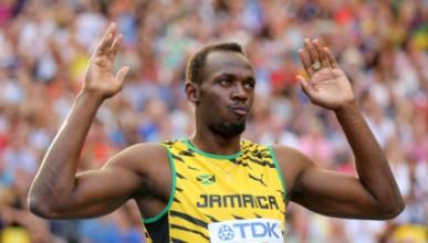 Юсейн Болт бяга най-бързо от таксита