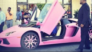 Розово Lamborghini
