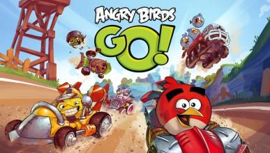 Angry Birds Go Cart